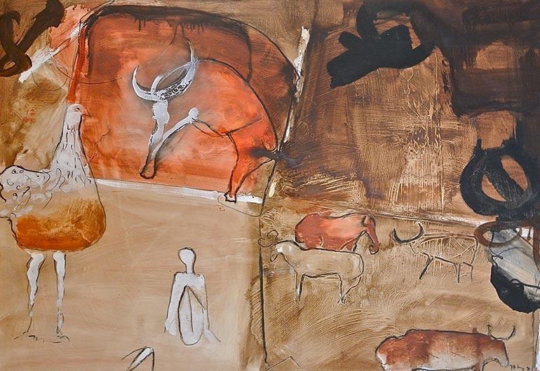 galerie herm s pitt moog artiste peintre sculpteur golfe saint tropez. Black Bedroom Furniture Sets. Home Design Ideas